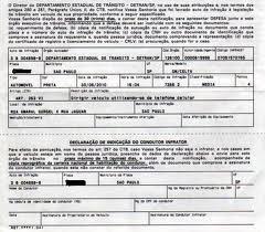 NAI (Notificação de Autuação de Infração) devolvida